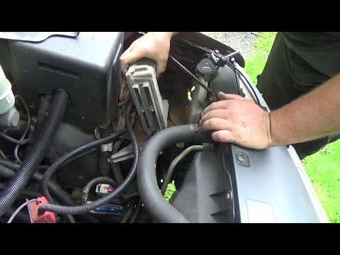 removing a pcm from a chevy 2002 2500 hd - youtube