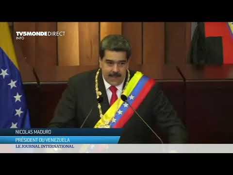 Venezuela : le président Maduro entame son second mandat très contesté !