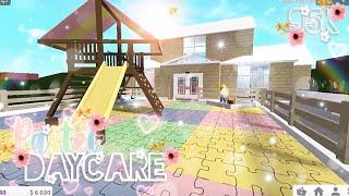 Pastel Daycare, 95k   Bloxburg, Roblox