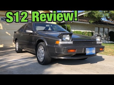 The 200sx Is A Shockingly Good Car From The 80's (S12 Review)