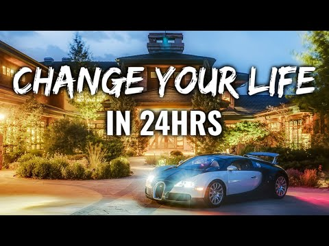How To Improve Your Life In 24 Hours (MUST WATCH!)