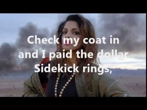 M.I.A. ft. Timbaland - Come Around ( Lyrics + Pictures )