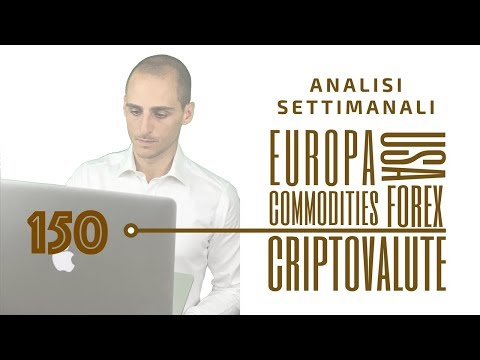 Analisi tecnica dei mercati per la prossima settimana: indici, materie prime, forex e criptovalute