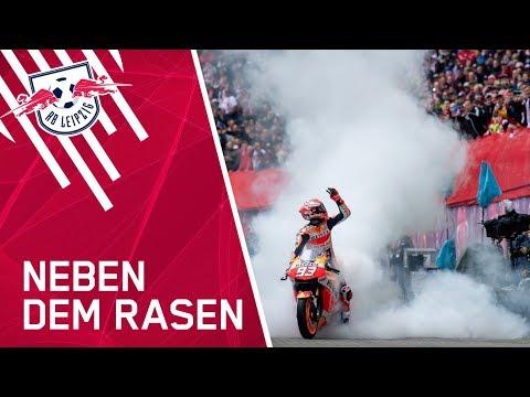 Der Auftritt von MotoGP-Star Marc Márquez in der Red Bull Arena!