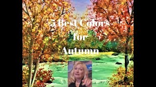 5 BEST Colors for Painting Autumn Trees with Acrylic Paint Q and A thumbnail