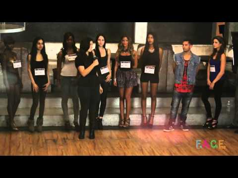FACE RUNWAY Fashion Tv  Casting Audition 1 Episode 1 by LA ICE host NICOLE SHIPLEY