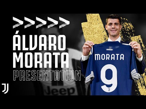 Welcome Alvaro Alvaro Morata Is Presented As A Juventus Player Juventus Youtube
