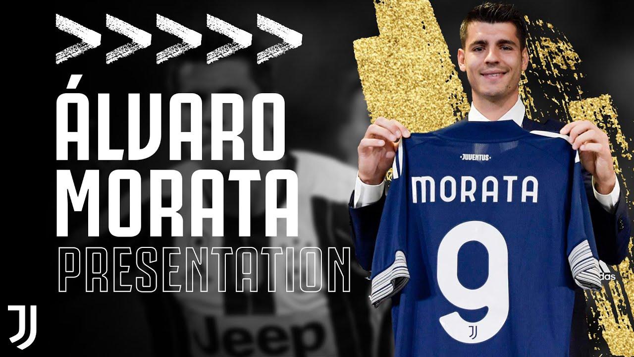 🇪🇸 Morata is a new Juventus player! | Every Álvaro Morata Goal - YouTube