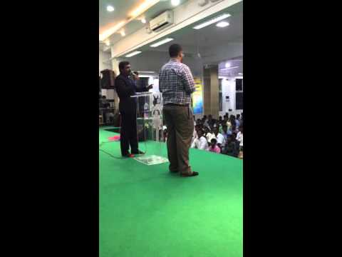 Liberty group in India with pastor Joe Persaud