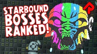 Starbound bosses ranked from best to worst!