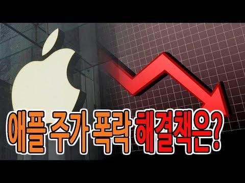애플 주가 폭락 블랙프라이데이를 맞아 낸 해결책은?!