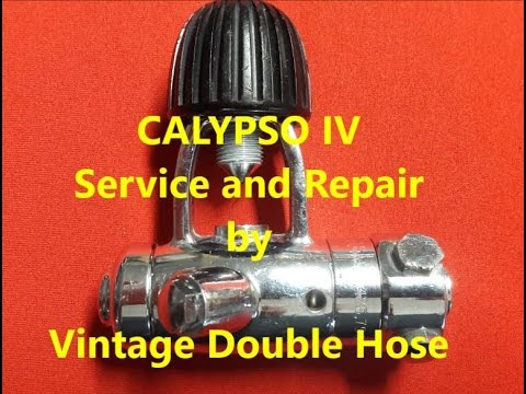 Calypso IV Service and Repair by Vintage Double Hose