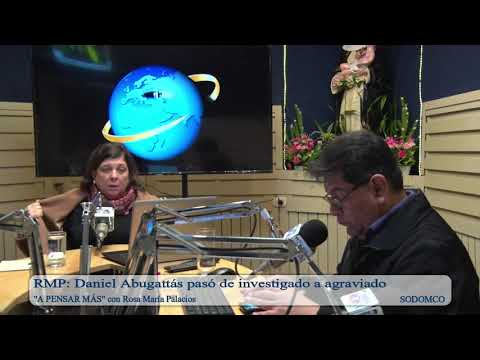 RMP: Daniel Abugattás pasó de investigado a agraviado