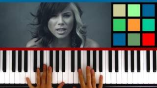 "How To Play ""Jar Of Hearts"" Piano Tutorial (Christina Perri)"