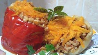 Фаршированные перцы с рисом | Рецепты похудения