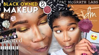 Full Face Using BLACK OWNED MAKEUP BRANDS | Naptural85 #ISAM