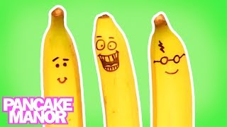 Bananas For Bananas | Food Song for Kids | Pancake Manor