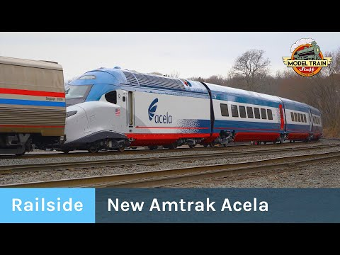 Delivering Amtrak's New Acela High Speed Trains