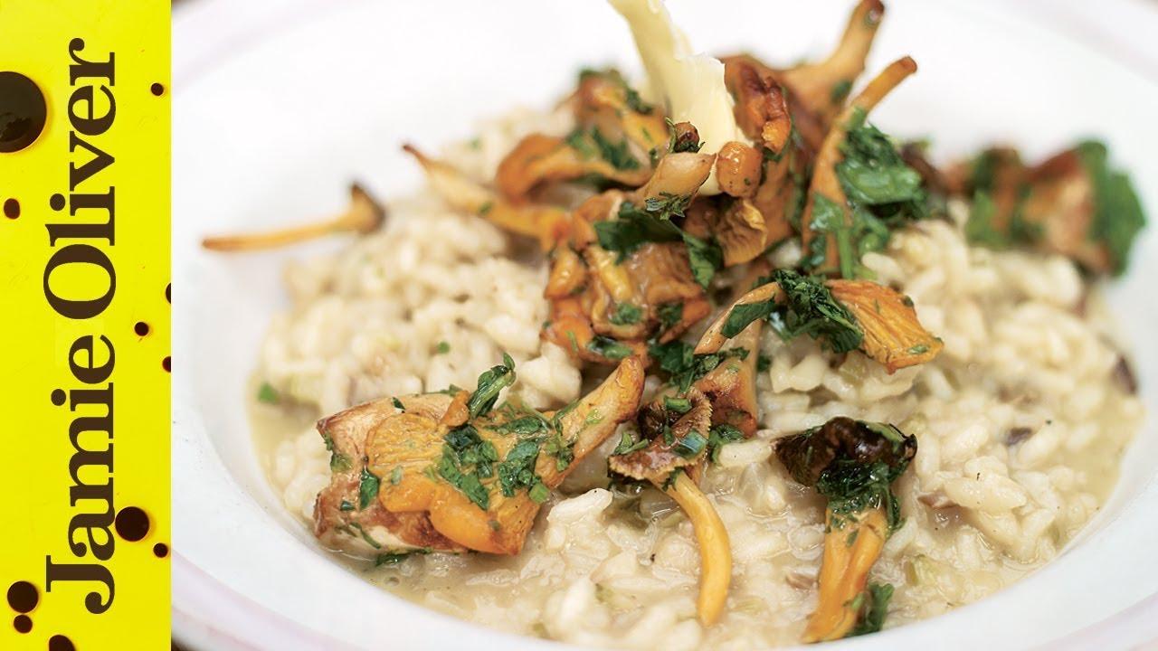 recept risotto met bospaddestoelen