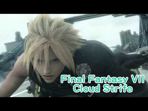 Cloud Strife   Final Fantasy Cosplay Wig Tutorial   クラウドコスプレウィッグの作り方