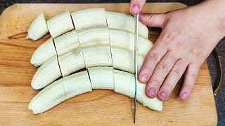 ВКУСНЕЕ торта и ДЕШЕВЛЕ хлеба ЭТОТ рецепт ТЕТЯ держала в СЕКРЕТЕ Банановый пирог за 20 минут