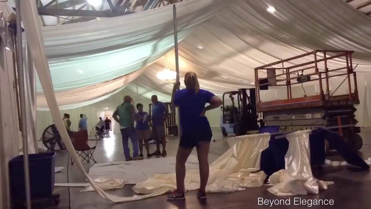 Time Lapse  Beyond Elegance  Pole Barn Ceiling and Wall