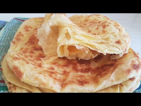 Mesemen árabe, MESMEM marroquí (irresistible y fácil)  Rghayf