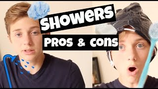 PROS AND CONS OF SHOWERS