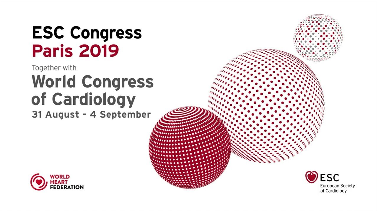 Experience ESC Congress 2019 together with World Congress of Cardiology #cardiology