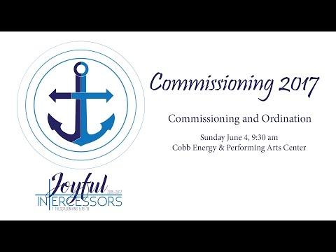 Commissioning 2017 - Commissioning & Ordination