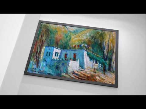 Artist-painter and poet Joseph Matar - Virtual art gallery