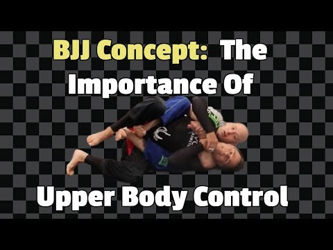 Back Mount Concepts - The Importance Of Upper Body Control by Jason Scully