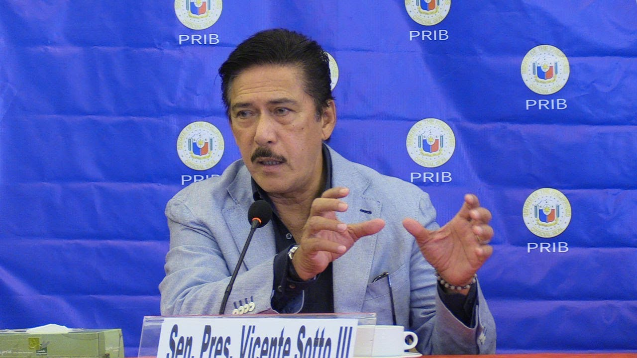 Sotto doubts impeachment is the only way to remove an impeachable official