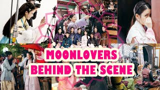 Video Moonlovers: IU and Lee Jun Gi cute moments ❤ [Behind The Scenes  (with English sub)] download MP3, 3GP, MP4, WEBM, AVI, FLV April 2018
