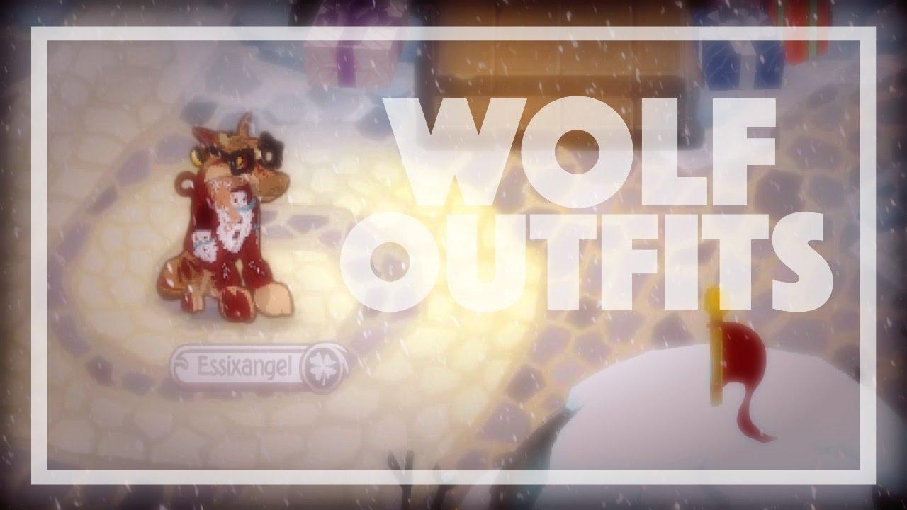 3 Non Member Wolf Looks In Animal Jam Youtube