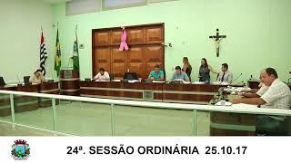 Sessão da Câmara 25.10.17