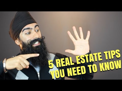 5 Real Estate Investing Tips You Need To Know | Real Estate Investing 101
