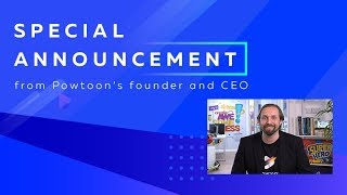 Special Announcement from Powtoon's CEO thumbnail