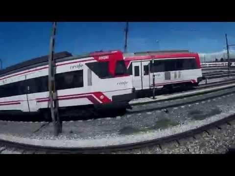 Trenes Renfe cercanias y metro Madrid