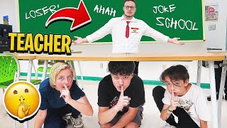 Kids Play HIDE AND SEEK in SCHOOL from the TEACHER