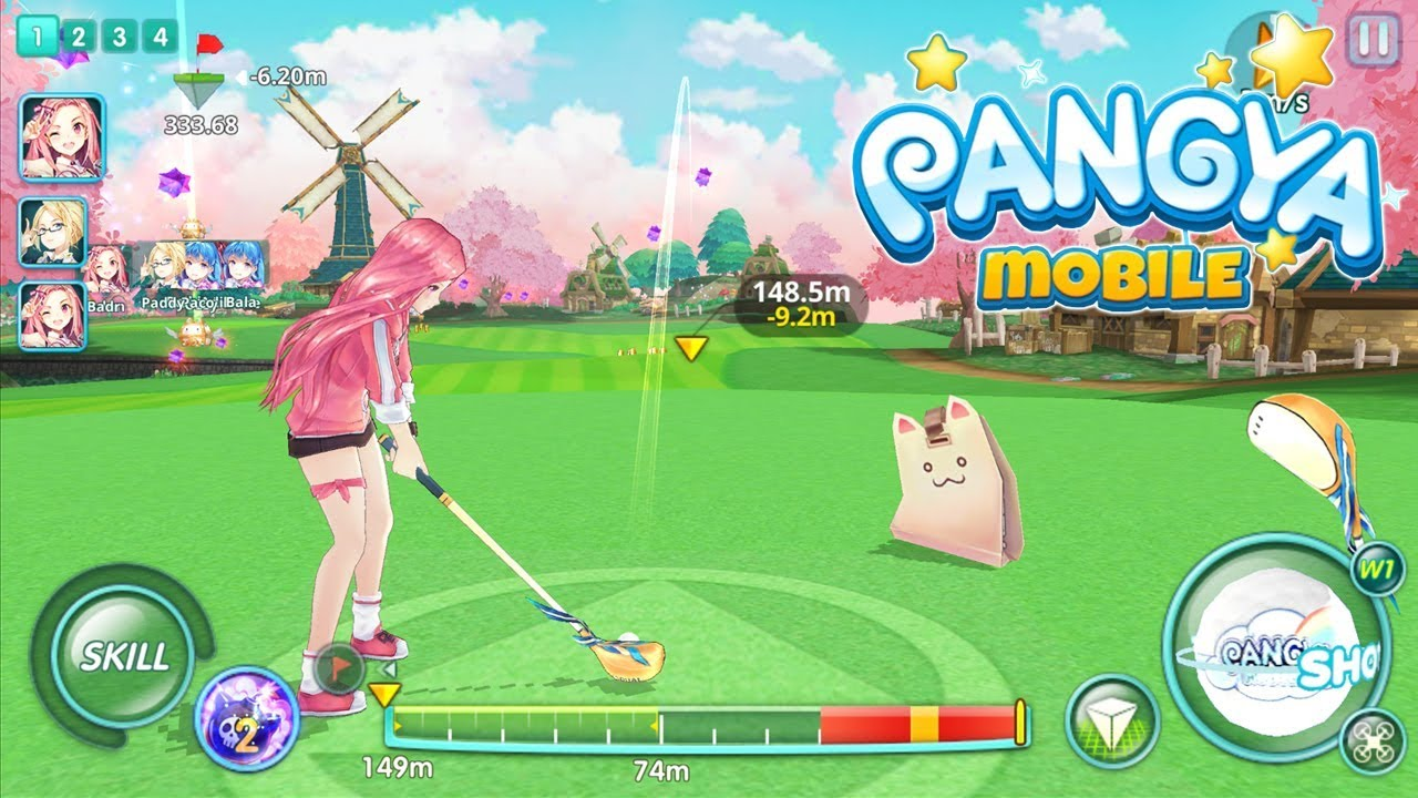 Pangya golf android game