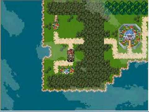 Lufia 5 Ruins Chaser World Map Test Youtube