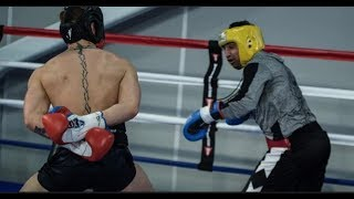 SPARRING MEANS NOTHING! -TONY BELLEW CONFESSES BEING 'BEAT-UP' - REACTS TO MALIGNAGGI-McGREGOR SPAR