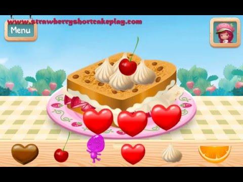 Strawberry Shortcake Food Fair Games