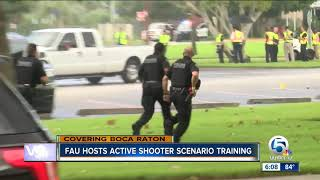 Active shooter drill held in Boca Raton on Saturday