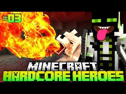 EIN ETWAS anderer HUND?! - Minecraft Hardcore Heroes 3 - #03 [Deutsch/HD]