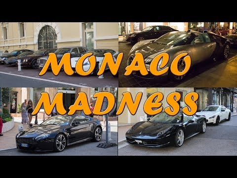 MONACO MADNESS - Hermitage Hotel parking (Veyron, Mansory, V12 Vantage, etc...) 2014 HQ