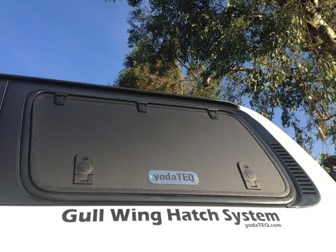 Yodateq Gull Wing Hatch System Full Video 2015 Youtube