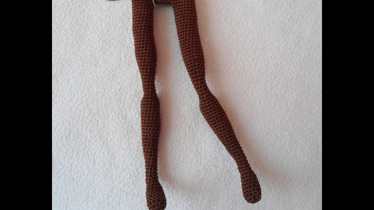 How To Crochet a Basic LOL Inspired Doll Body | Tawny Bee | 720x1280