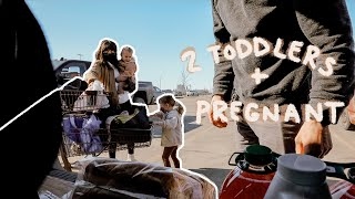 Running Errands Pregnant + 2 Toddlers & The Baby Item We Most Regret Buying // DITL Vlog